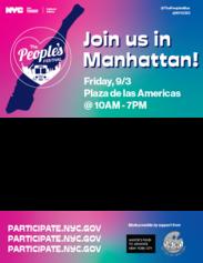 People's Festival - Manhattan Flyer
